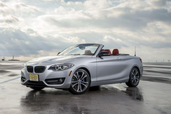 Markteinführung des BMW 2er Cabriolets
