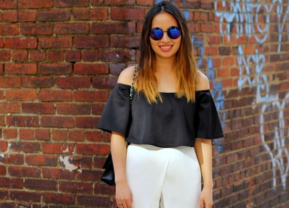 Street style tip of the day: Culotte of love