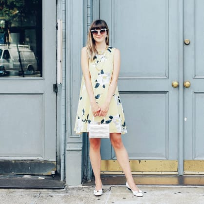 Street style tip of the day: Yellow and mellow