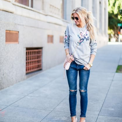 Street style tip of the day: Casual night out