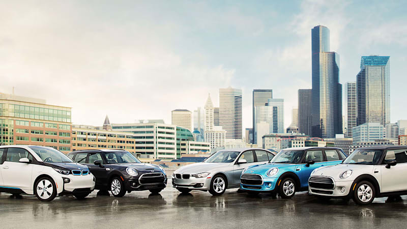 BMW moves car-sharing program from San Francisco to Seattle