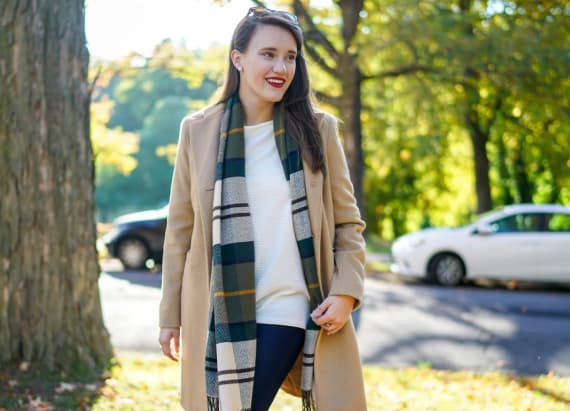This fall outfit is picture perfect