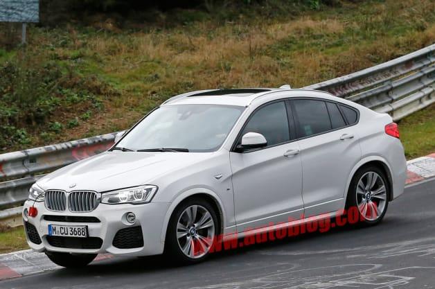 Spy Shots: BMW X4 M40i caught production-ready