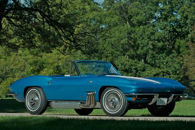 Harley Earl S Personal Corvette Going Up For Auction