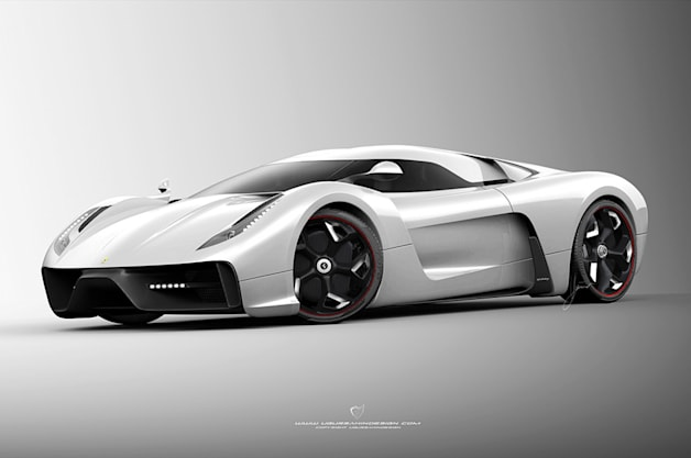 Ferrari F by Ugur Sahin Design