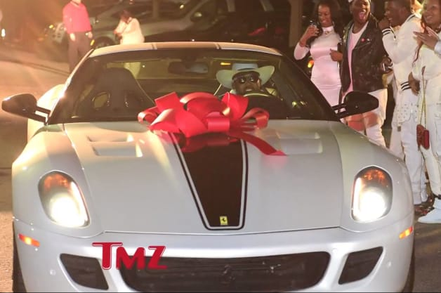Ferrari 599 GTO birthday present