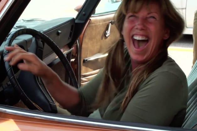 Mom gets her dream Saab 99