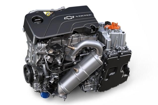 2016 Chevy Volt 1.5-liter engine