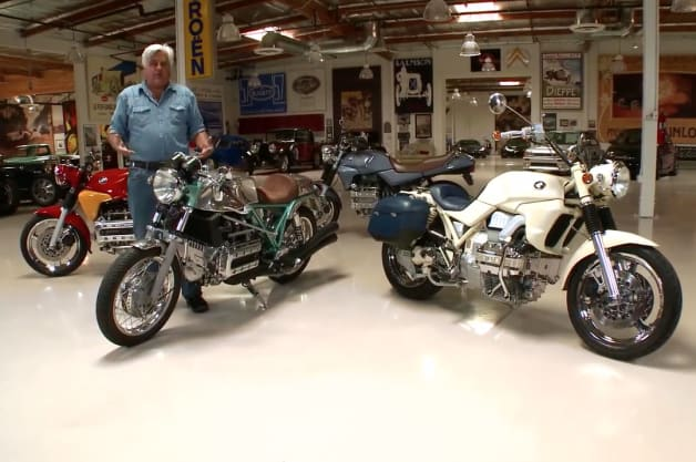 Jay Leno puts focus on some retro-inspired BMW bikes