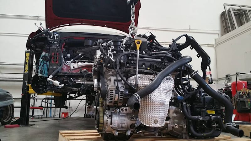 Porsche Purists Look Away This 911 Is Powered By Hyundai