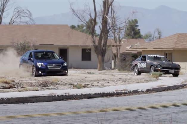 Roadkill Subaru