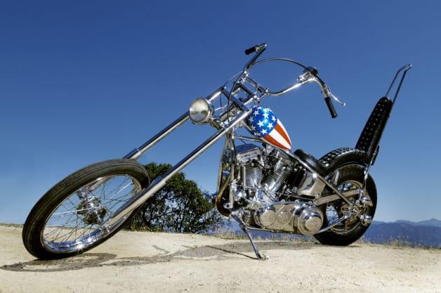 Easy Rider Captain America Motorcycle