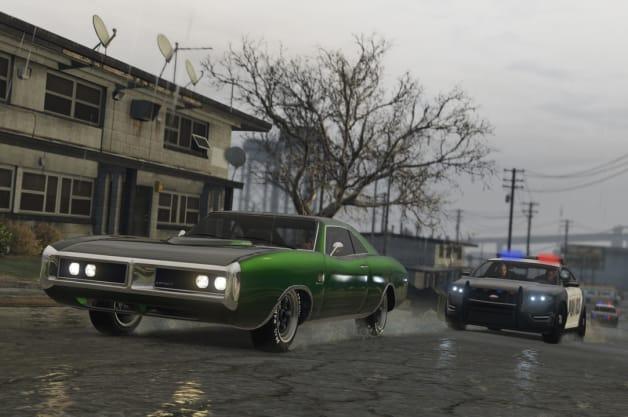 Grand Theft Auto V on Xbox One