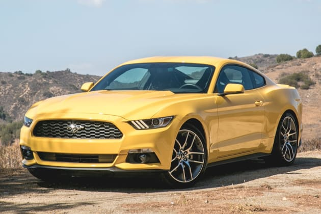 2015 ford mustang ecoboost review w video. Black Bedroom Furniture Sets. Home Design Ideas