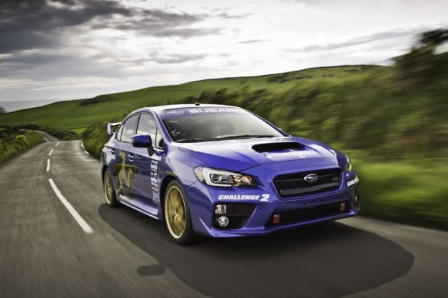 Subaru WRC STI Isle of Man