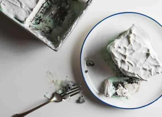 The ultimate 6-layer ice cream cake