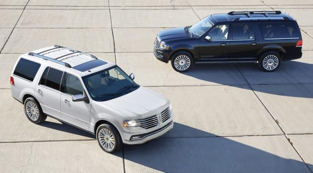 2015 Lincoln Navigator and Navigator L