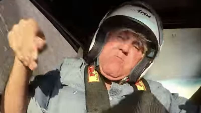 Jay Leno walked away from this terrifying rollover crash