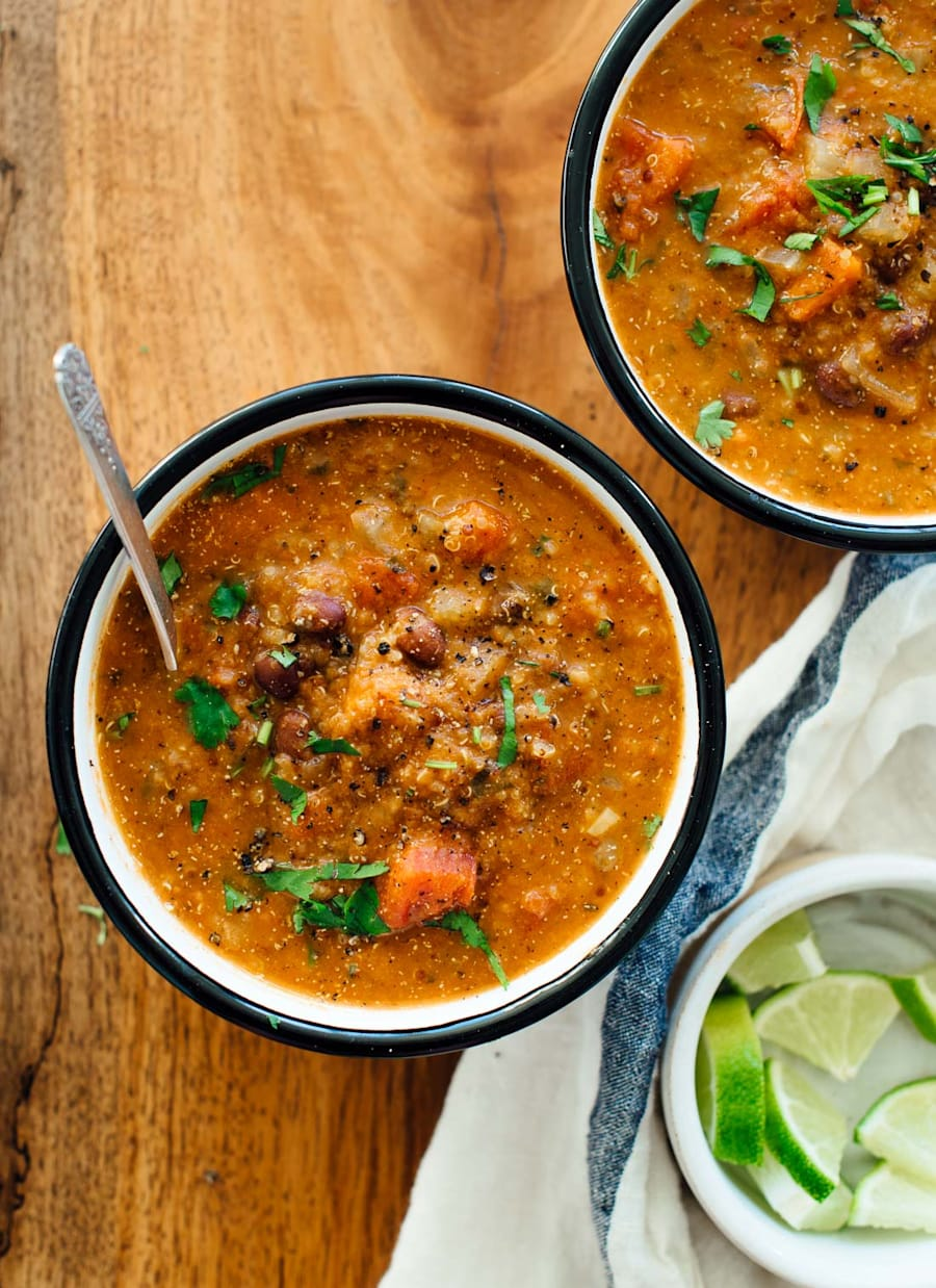 Recipe For Mexican Quinoa Stew Cookie And Kate