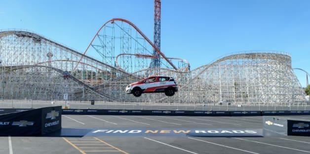 Rob Dyrdeck world record backwards jump