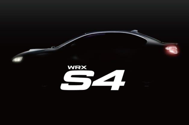 Subaru WRX S4 teaser