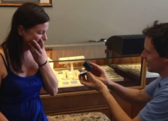 Happy surprise after couple's wedding rings stolen