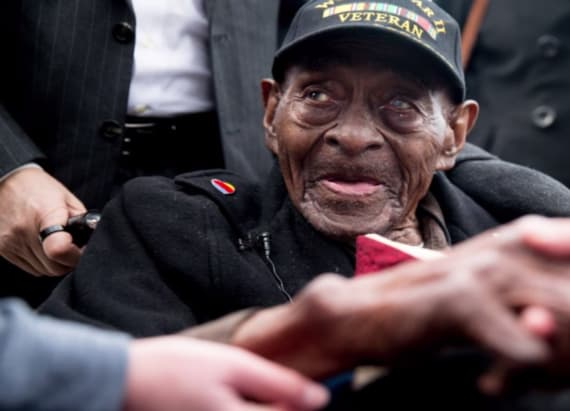 Oldest living WWII veteran has passed away