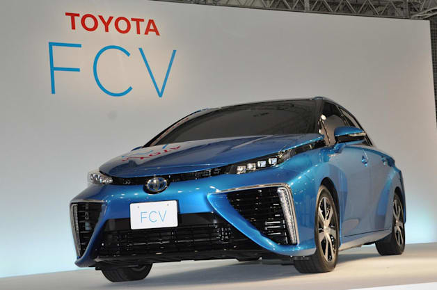 Toyota FCV Mirai Fuel Cell Vehicle
