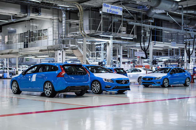 Volvo Polestar Production