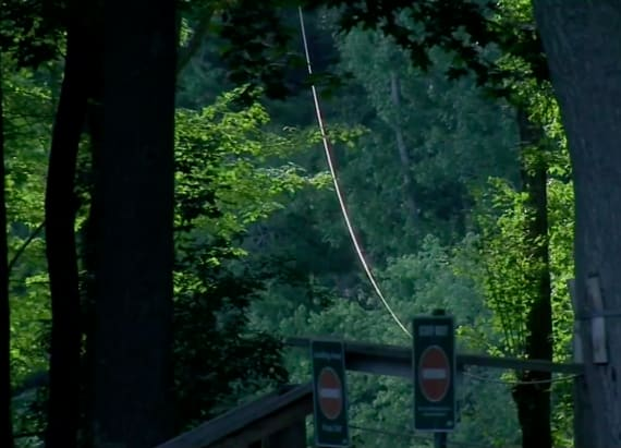Woman plummets to her death from zip line