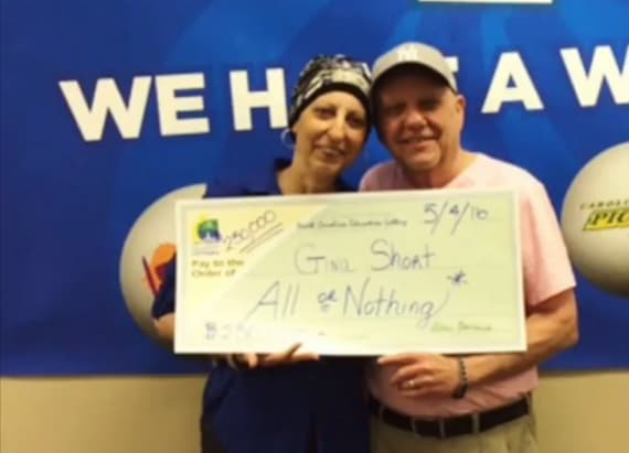 Cancer patient wins lottery twice in 3 months