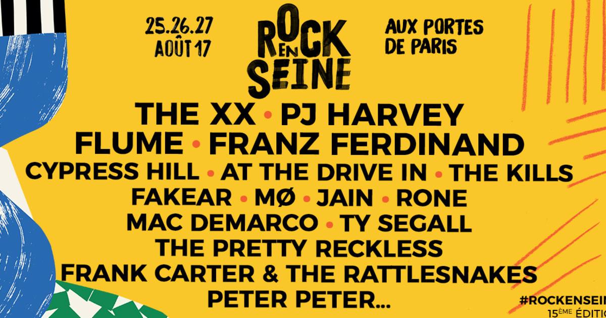 Rock En Seine 2017 Pj Harvey The Xx Franz Ferdinand 224 L