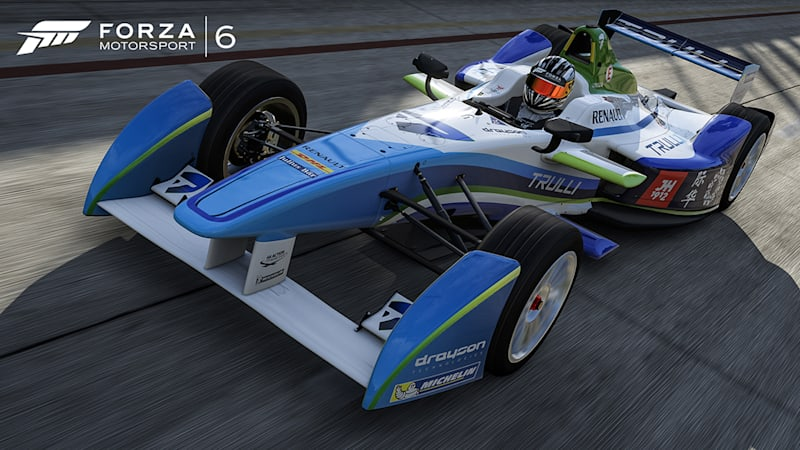 Forza Motorsport 6 to offer every car on Formula E grid