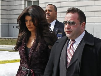 'Real Housewives' Star Teresa Giudice, Husband Face Prison