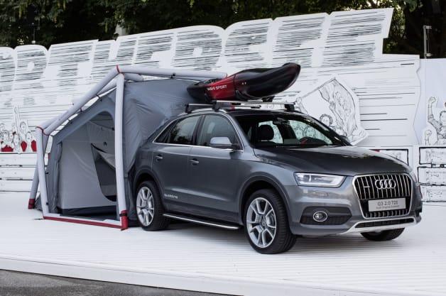 Audi Q3 Camping Concept