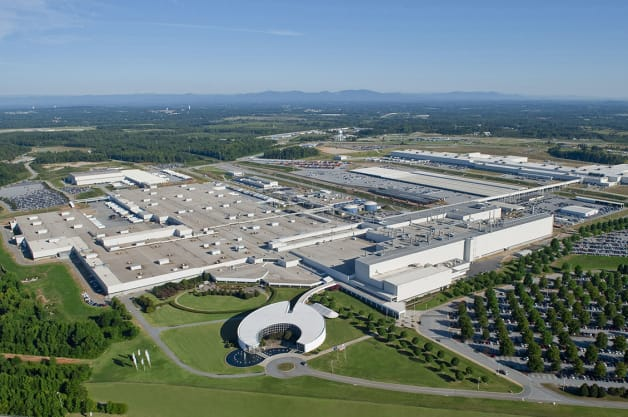BMW is the US auto industry's leading exporter