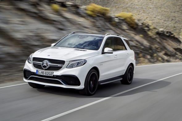 Mercedes-Benz GLE, Mercedes-AMG GLE 63, AMG, Modellpflege, Mopf , Dacelift, M-Klasse, Premiere, GLE, Mercedes GLE, w166, w 166