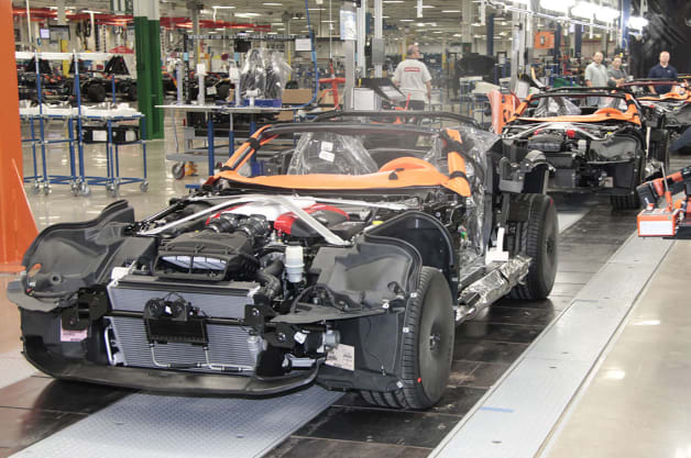 SRT Viper Factory