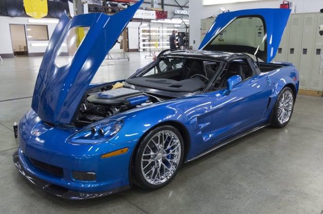 2009 Chevy Corvette ZR1 Blue Devil