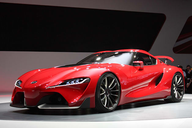 2015 Toyota Supra Sports Car on 2014 mustang all wheel drive