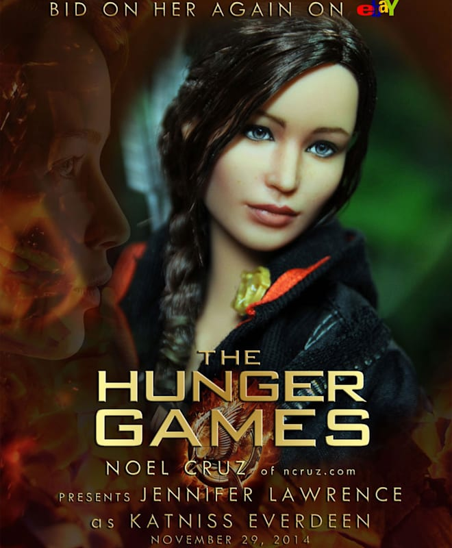 Jennifer Lawrence Katniss Everdeen Barbie