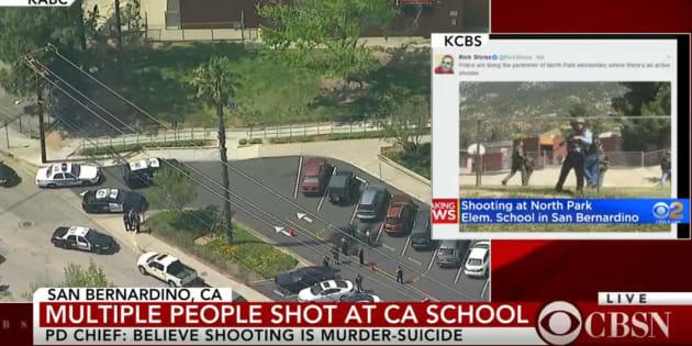 Fusillade dans une école primaire de San Bernardino