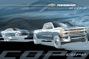 Silverado HD Dually tow vehicle