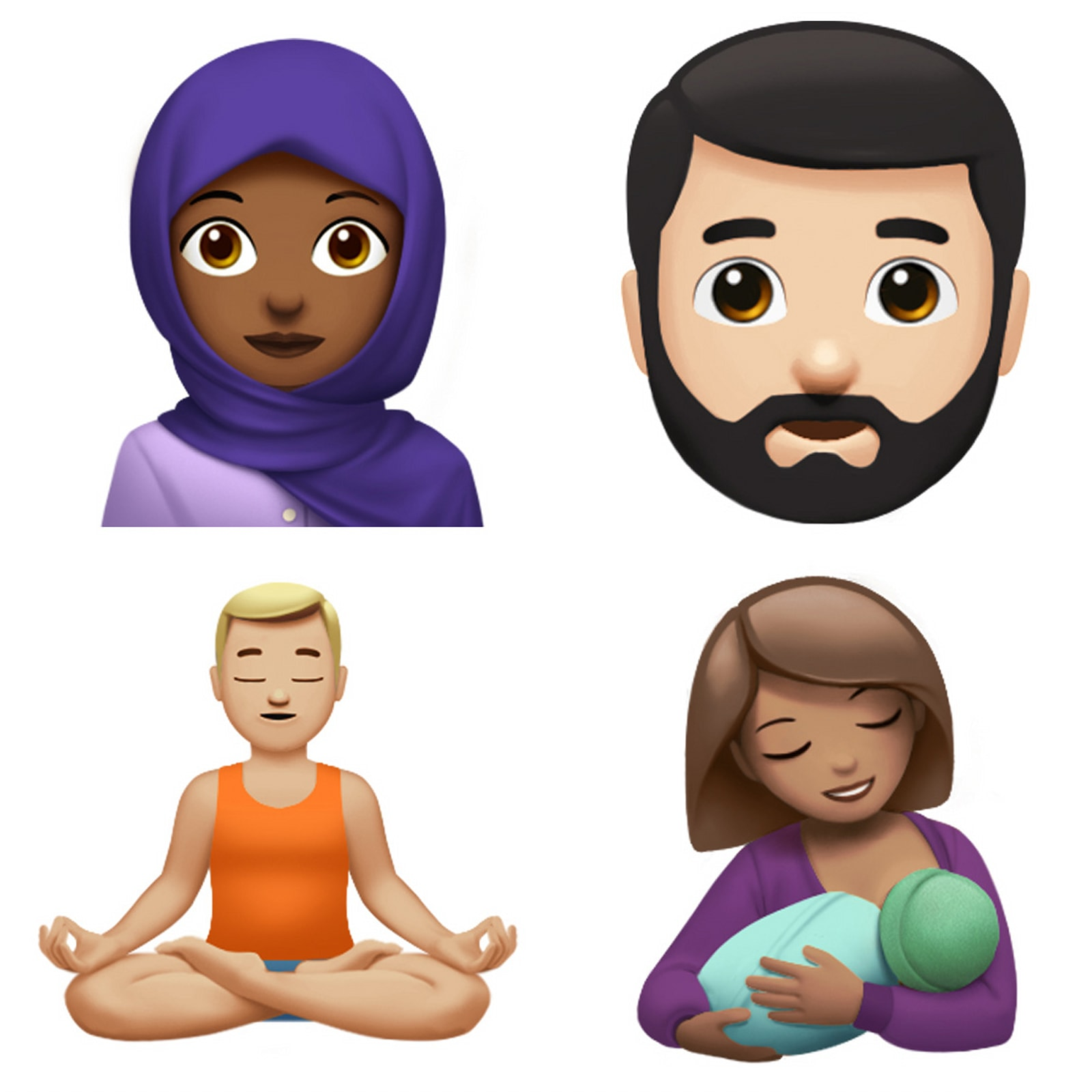photo image Take a peek at the new iOS emoji arriving later this year