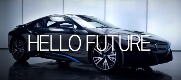BMW i8 hello future tv ad