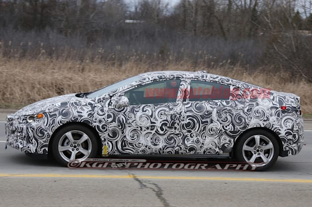 2016 Chevy Volt spy shot