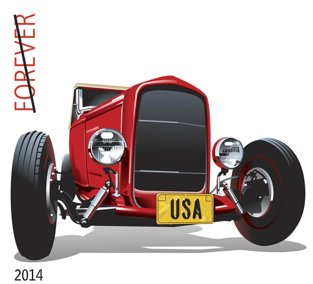 USPS Hot Rod Stamp