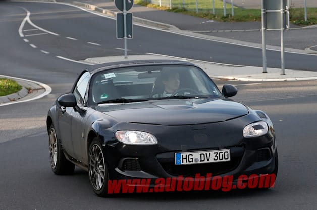 Mazda MX-5 Miata Spy Shot