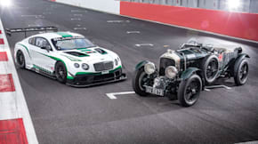 Bentley Continental GT3 and Birkin Blower