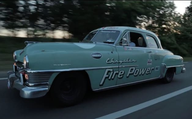 1951 Chrysler New Yorker Rally Car